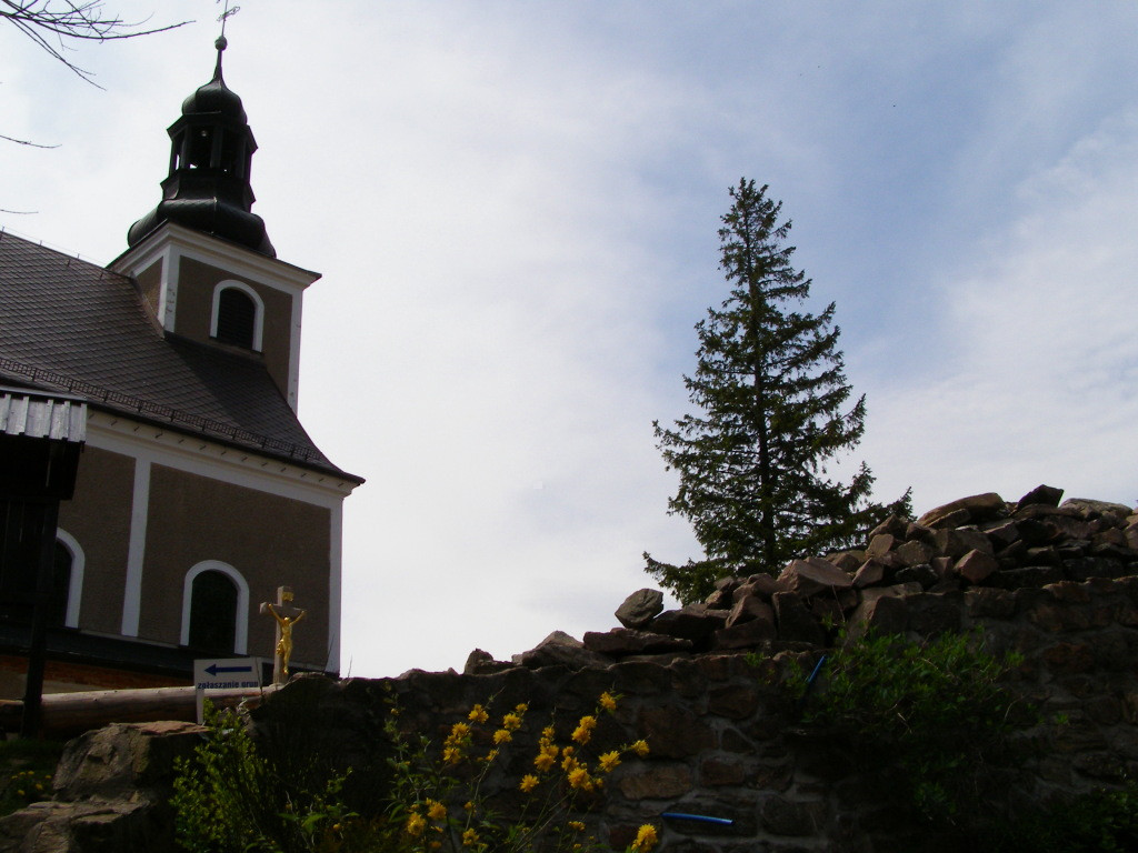 "Tower of the church at ""Maria Sniezna"""