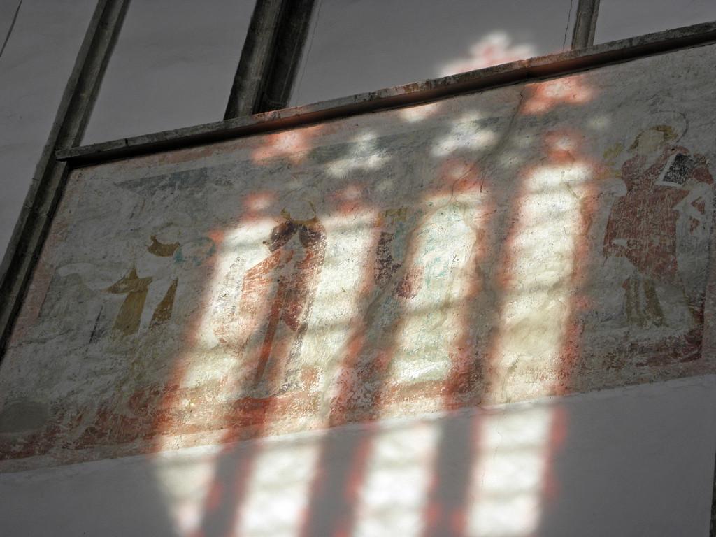 Strzegom - bazylika odkryty fresk