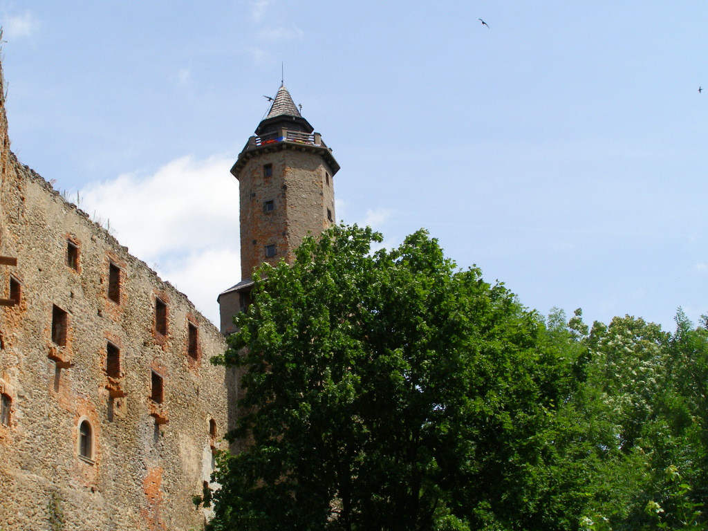 The keep from the outer yard