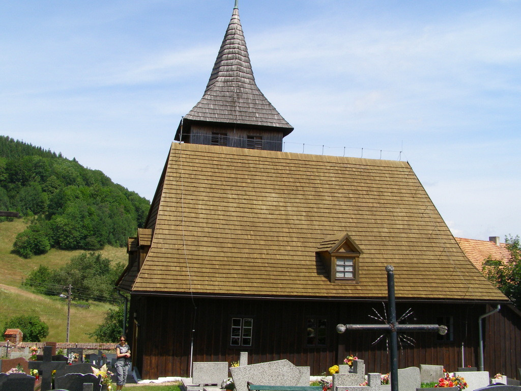 Wooden church in Grzmiaca