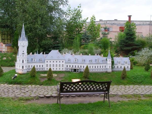 Palace of Bozkow - miniature