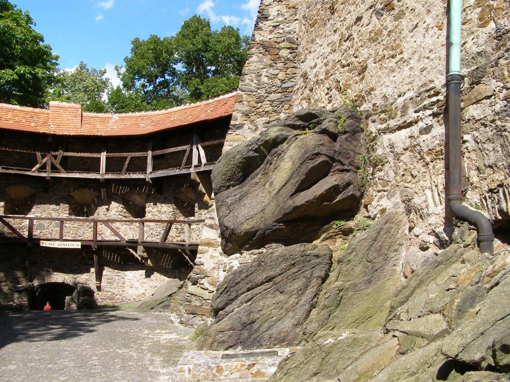 Rocks of Czocha castle