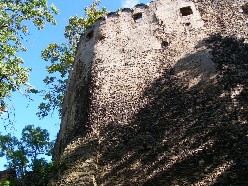 Ruins of castle Gryf