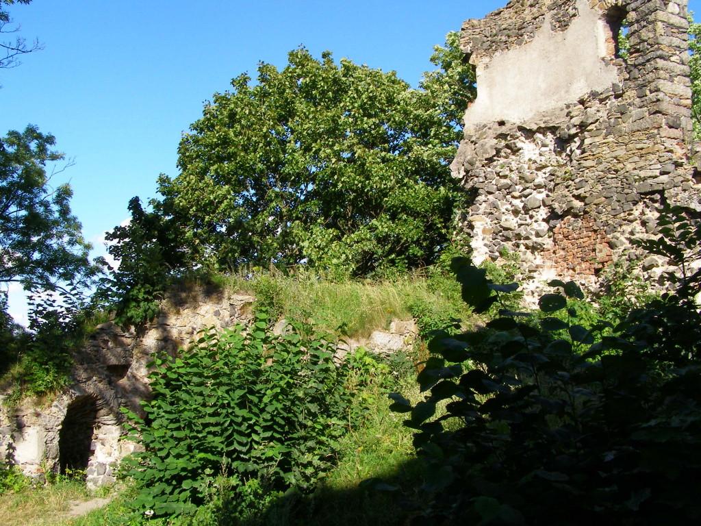 Remnants of Schaffgotsch castle
