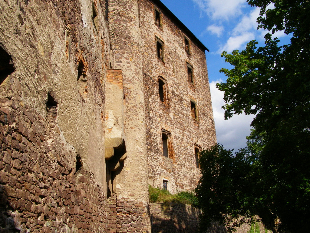Main building of castle Swiny