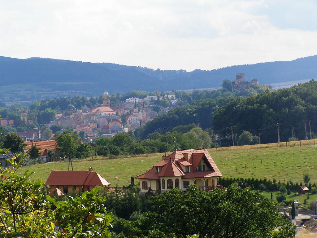 View from Swiny towards Bolkow