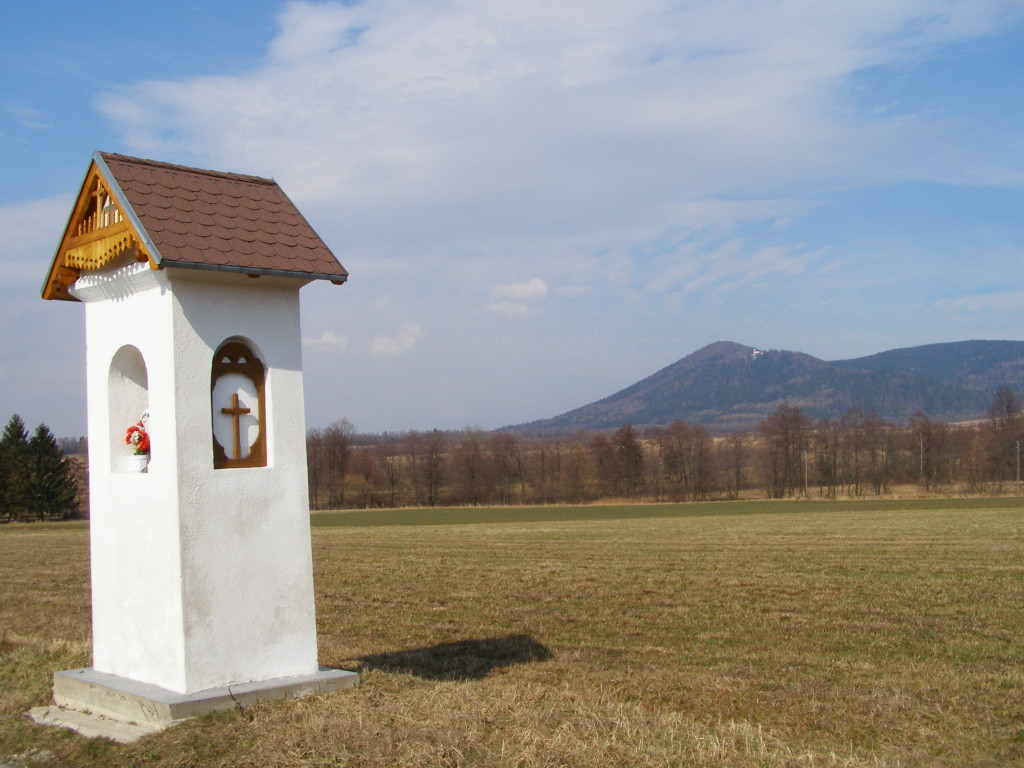 Wayside shrine near Domaszkow