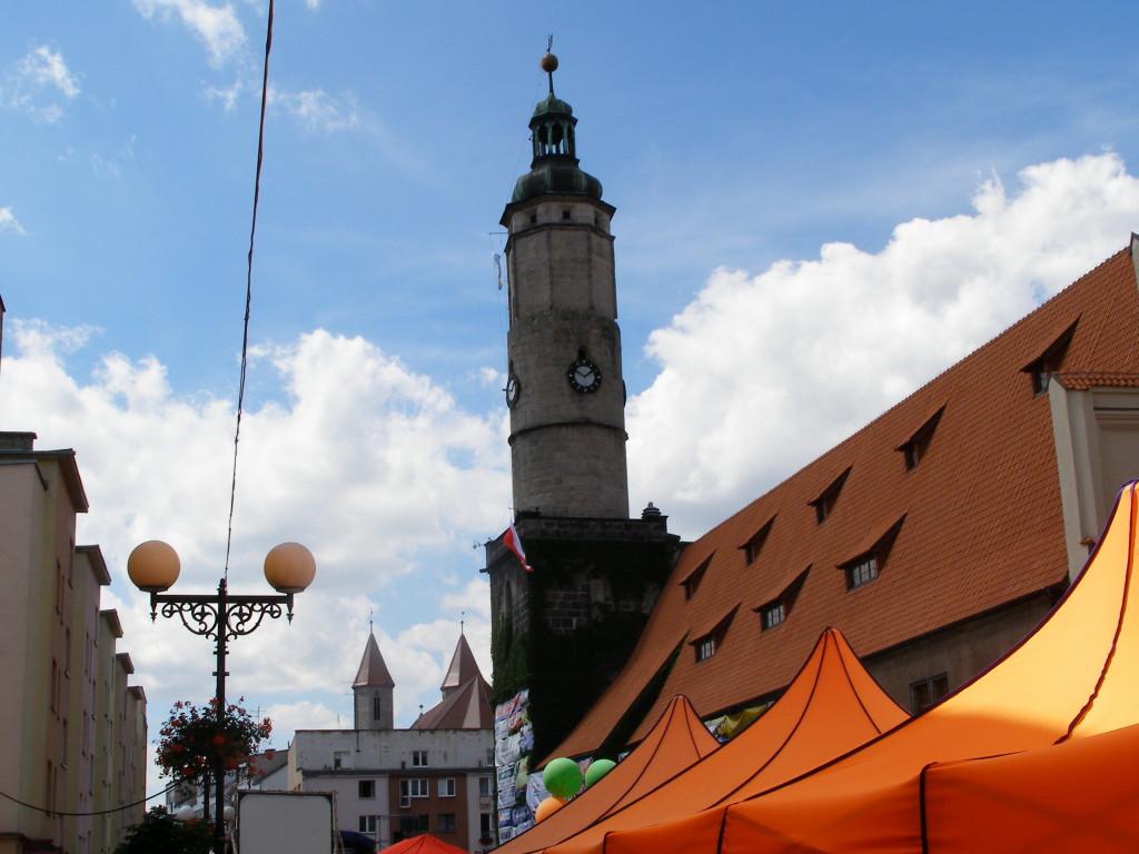 Market square in Lwowek