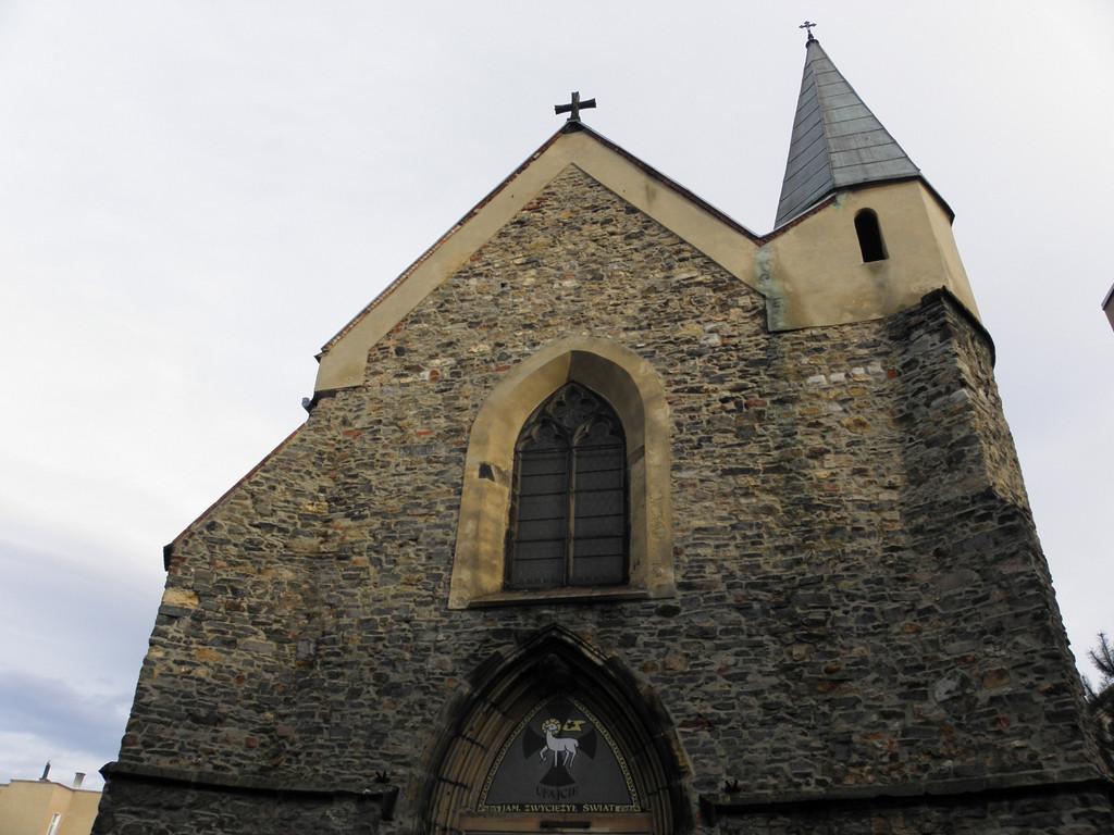St. Barbara church in Strzegom