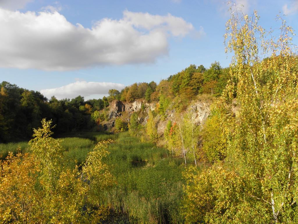 Wzgórza Strzegomskie - jesień
