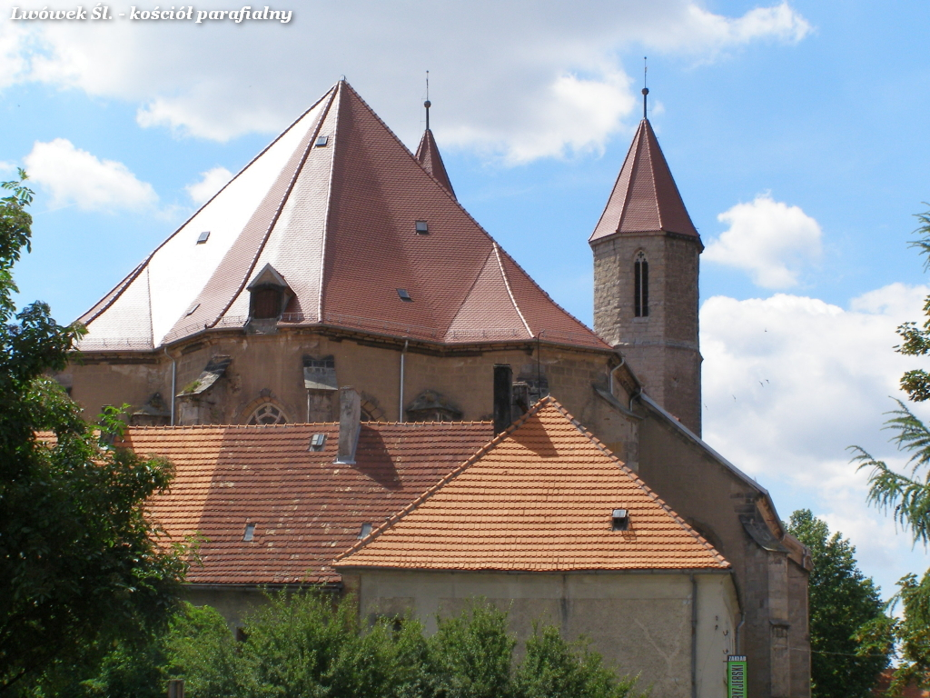 Church in Lwowek Slaski