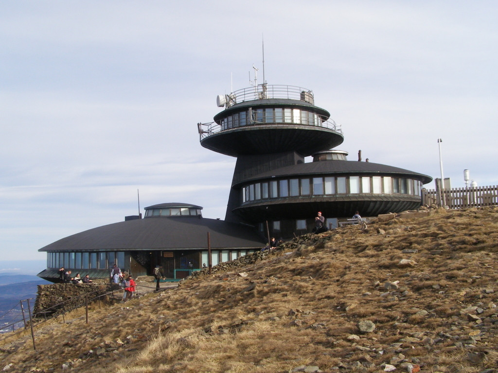 Meteorogical observatory on the top of Sniezka (1603 m)