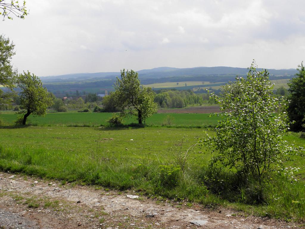 Wzgórza Niemczańskie znad Słupic