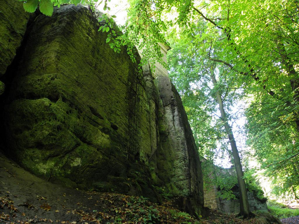 Droga do zamku Valdsztajn