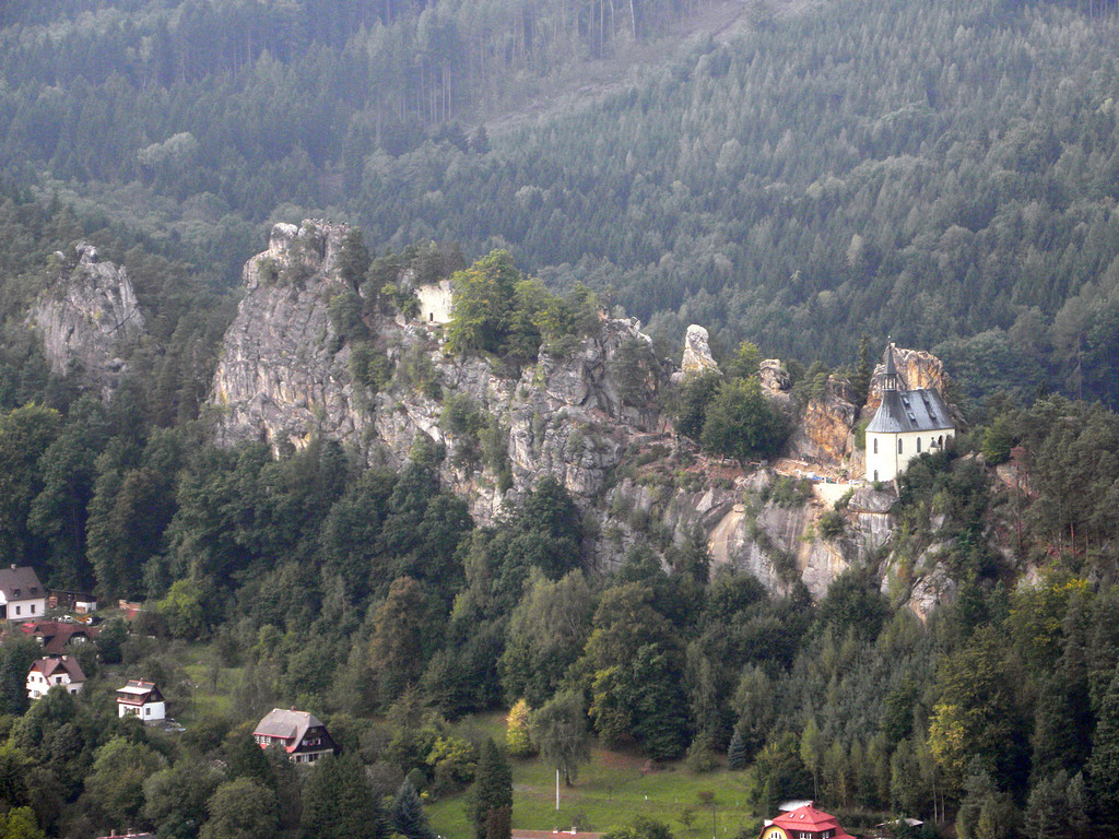 Widok na grzbiet Vranov
