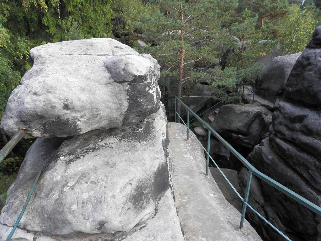 Skalny labirynt pod Sokołem