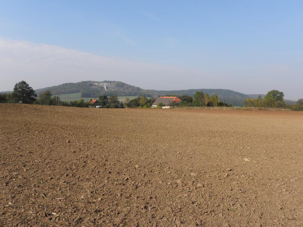 Widok na Trupień znad Kondratowa