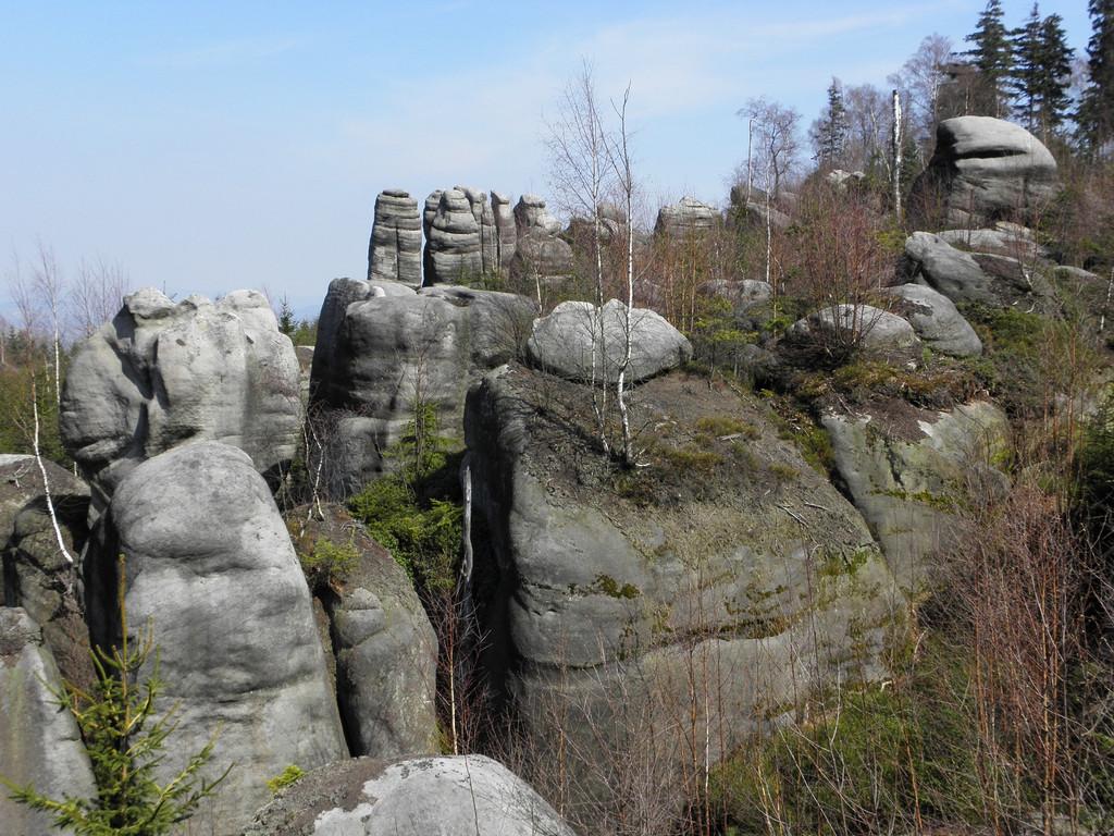 Rocks near Biała Skała