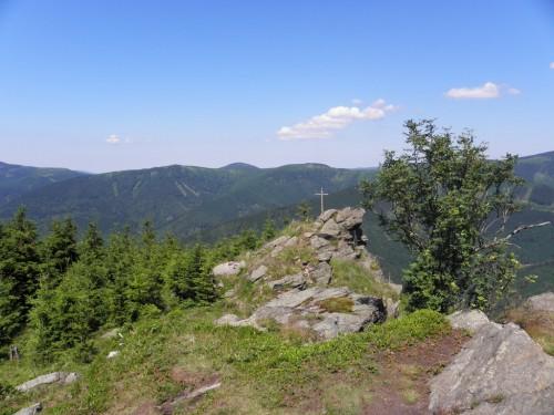 Rocks on Medvedi hora