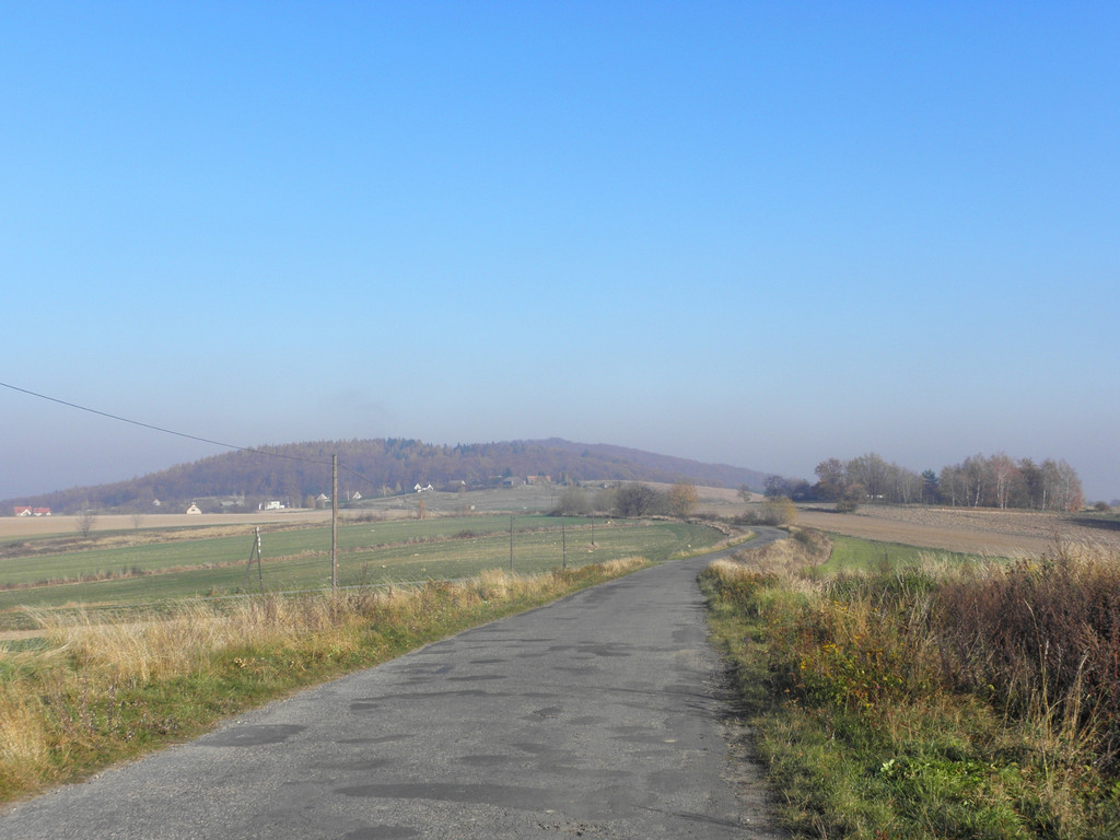 On the ridge of Strzelinskie hills