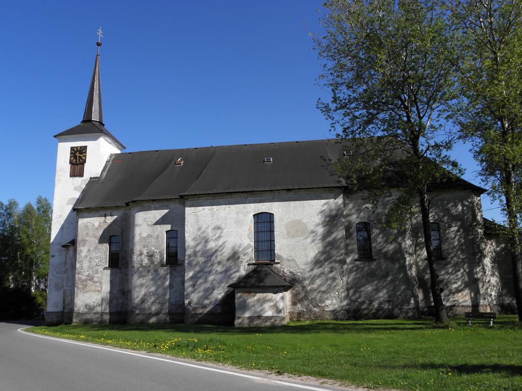Kościół w Orlickim Zahori