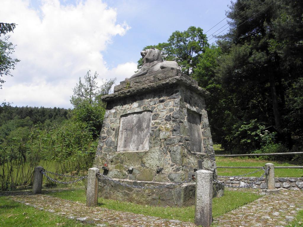 Kiełczyn - niemiecki pomnik